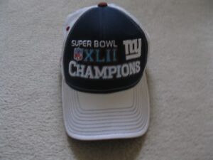 New York Giants Super Bowl Champions NFL Hat