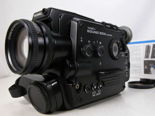 Beautiful Tested YASHICA Super 8 MOVIE CAMERA Working And Ready to Film!