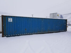 Used, 40' standard shipping container