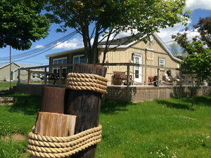 LUXURY COTTAGE RENTAL - PARLEE BEACH - SHEDIAC - POINT-DU-CHENE