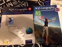 AQA A LEVEL GEOGRAPHY REVISION BOOKS