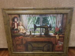 Singer sewing machine picture