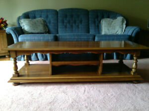 Coffee Table and End Tables and Chair