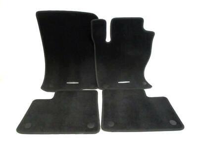 Set of 4 Mercedes Benz Car Floor Mats Carpet Black A1666802048 9F87