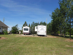 Large RV Site For Rent In Rolla, BC