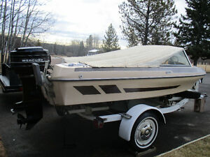1995 Glascon 14 ft open bow boat