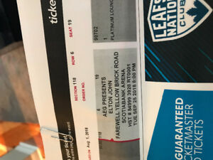 Elton John Tickets - Sept. 25, 2018
