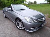 2013 Mercedes Benz E Class E200 BlueEFFICIENCY Sport 2dr Tip Auto Leather! Ai...