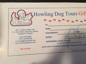 Howling Dog Tours Gift Certificate