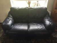 2 seater leather sofa *free*