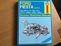 Haynes Manual Ford Fiesta