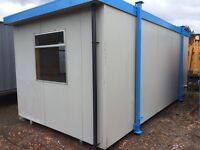 Portable cabin twin room bunk /toilet/shower