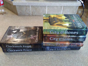 City of Bones and Clockwork Hard cover books