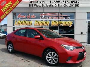 2016 Toyota Corolla 4-Door Sedan LE Cvti-S Back up cam, Heated S