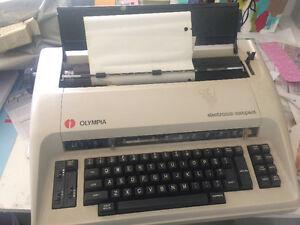 FREE electronic typewriter