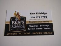 KENS MOBILE CATERING -FREE ESTIMATES BOOKING FOR 2018