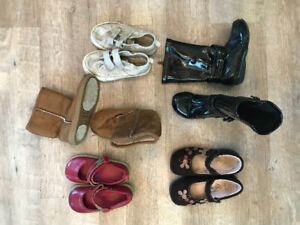 Toddler girl shoes 8T - 9T