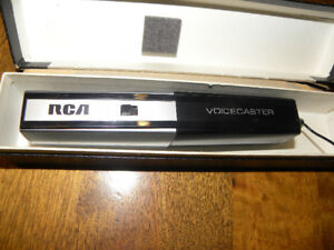 1970's RCA Voicecaster ADX !010 Japanese Microphone