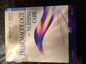 Pharmacology of nursing care