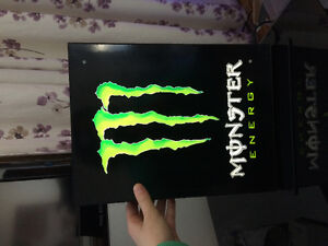 Lampe monster energy