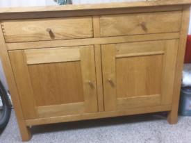 Cabinet. Solid Oak.Willis&Gambier)