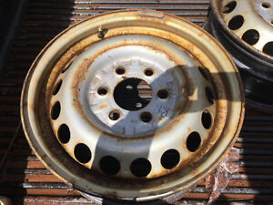 Steel rims from chev