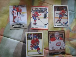 5 card Montreal Canadiens set