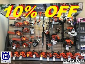 HUSQVARNA DEALER 10% OFF ALL EQUIPMENT + PROMOS