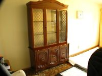 China Cabinet (Immaculate Condition)