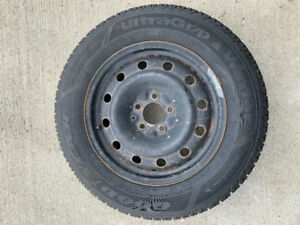 Set of 4 rim and tire of a Dodge Avenger