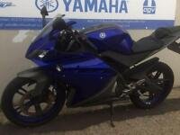 2013 YAMAHA YZF-R125 GREY/BLUE ONLY £2695!! RIDE AWAY TODAY