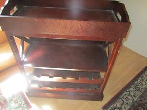 Wooden Wine Rack with lift off tray