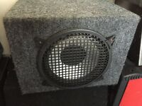 10 inch subwoofer in box - American brand very loud