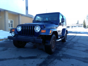 RECHERCHE JEEP TJ POUR PIECES LOOKING FOR JEEP TJ FOR PARTS