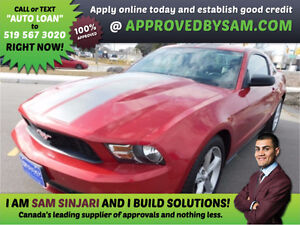 MUSTANG - HIGH RISK LOANS - LESS QUESTIONS - APPROVEDBYSAM.COM