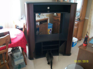 Entertainment /tv stand in good condition