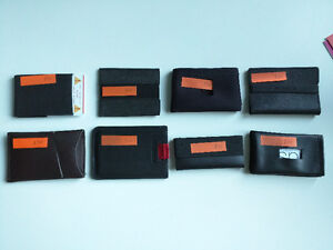 Assortment of Minimalist Wallets $25 to $40 OBO