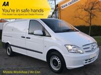 2014/ 14 Mercedes Vito 113 CDI 136 Blue Lwb [ Mobile Workshop ] Van A/Con T/SLD