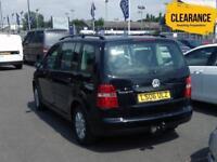 2006 VOLKSWAGEN TOURAN 1.6 S 5dr MPV 7 Seats