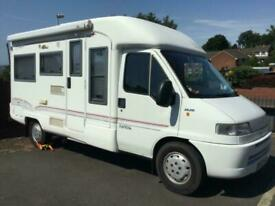 RAPIDO 710f END LOUNGE 3 BERTH WITH 2 SEATBELTS