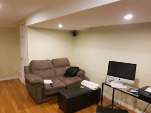 Basement For Rent near U of T - Backing to Ravine and Park