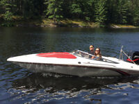 17' CHECKMATE BOWRIDER W/125HP MERCURY, EXCELLENT CONDITION!