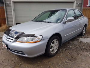 2001 Honda Accord LX w/ Brand New Winters and Battery