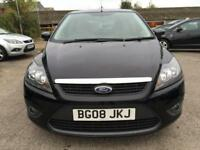 2008 Ford Focus Hatch 5Dr 1.6 100 Zetec Auto4 Petrol black Automatic