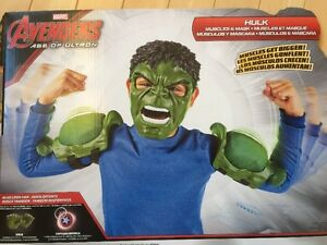 Avangers Hulk Muscles and Mask