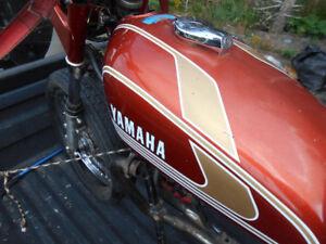 1974 Yamaha tx/xs 500 Project