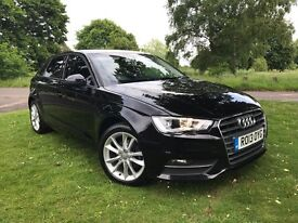2013 AUDI A3 1.6 TDI SE *NEW SHAPE* 1 OWNER* FULL SERVICE HISTORY* SAT NAV* HEATED SEATS* LOADED*
