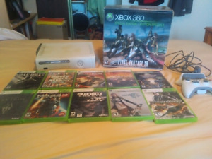 Xbox 360 Special Edition 250gb Hard drive and Games