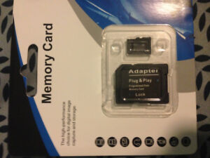 Memory SD Card and Adapter