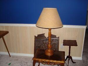 Three  Single  Lamps